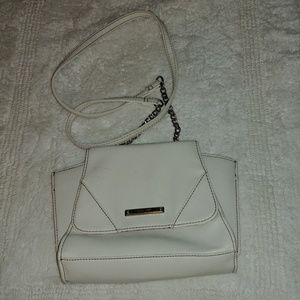 Nine west white purse